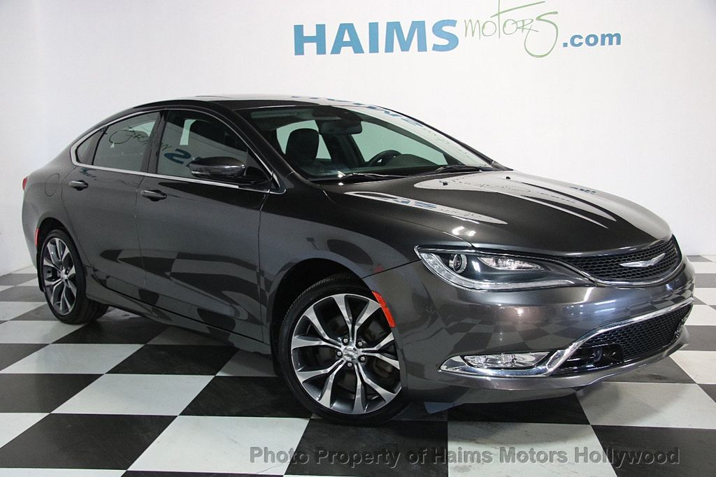 2015 Used Chrysler 200 4dr Sedan C AWD at Haims Motors Serving Fort ...