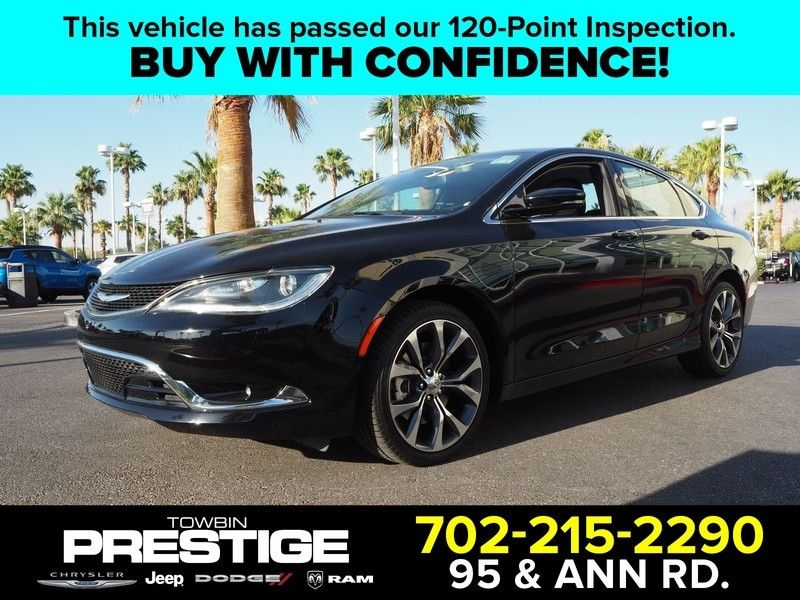 2015 Chrysler 200 4dr Sedan C FWD - 17685163 - 0