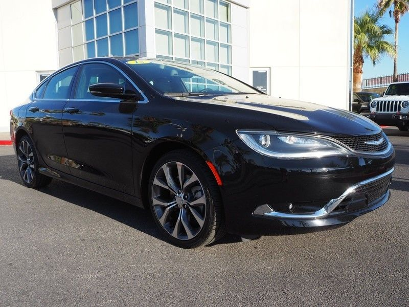 2015 Chrysler 200 4dr Sedan C FWD - 17685163 - 2