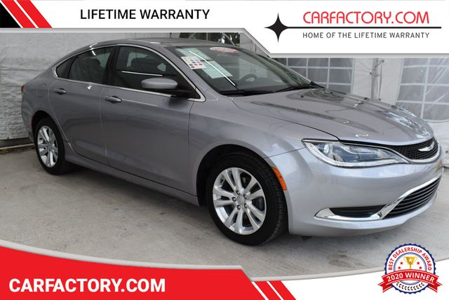 2015 Used Chrysler 200 4dr Sedan Limited Fwd At Car Factory Outlet Serving Miami Dade Broward Palm Beach Collier And Monroe County Fl Iid 18913645