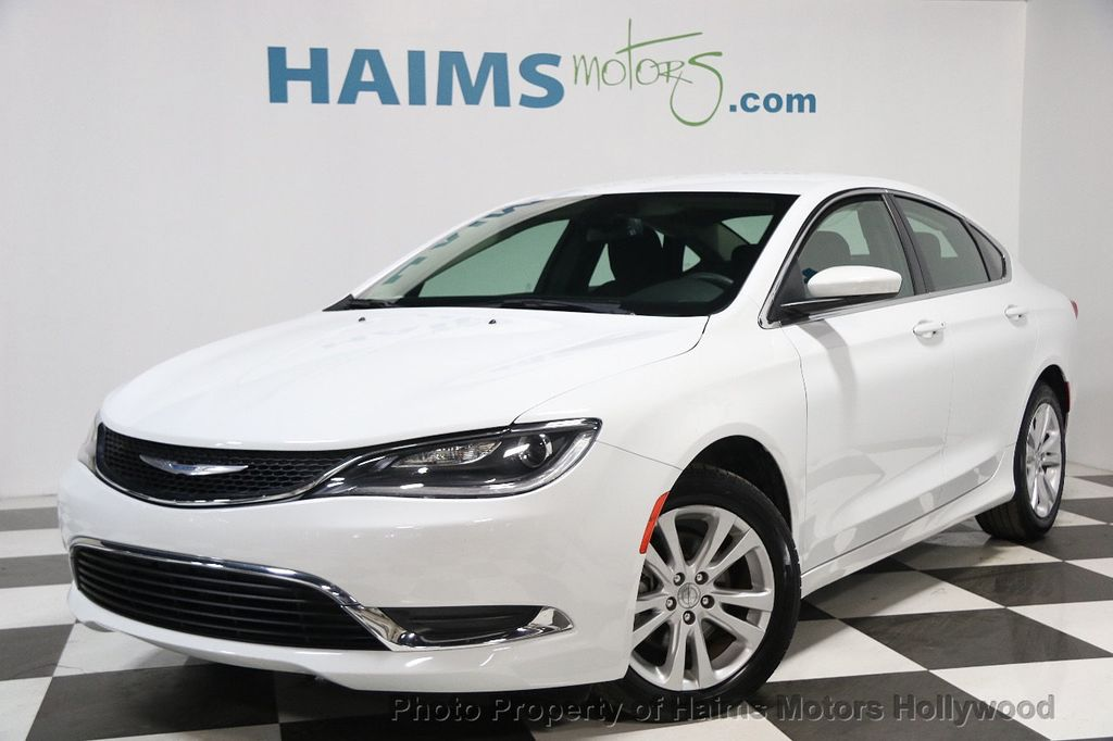 2015 used chrysler 200 4dr sedan limited fwd at haims motors ft lauderdale serving lauderdale. Black Bedroom Furniture Sets. Home Design Ideas