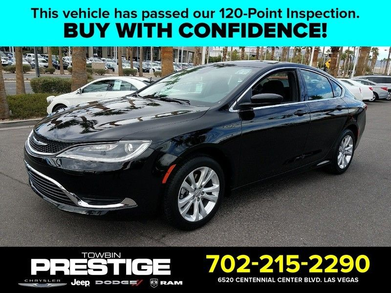 2015 Chrysler 200 4dr Sedan Limited FWD - 17002660 - 0