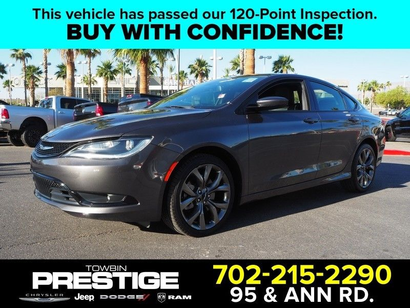 2015 Chrysler 200 4dr Sedan S FWD - 17661534 - 0