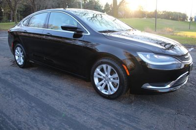 2015 Chrysler 200 ONE OWNER LIMITED  Sedan
