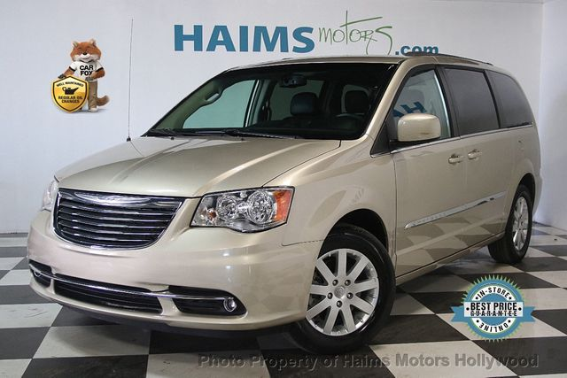 2017 Used Chrysler Town Country 4dr Wagon Touring At Haims Motors Serving Fort Lauderdale Hollywood Miami Fl Iid 17426298