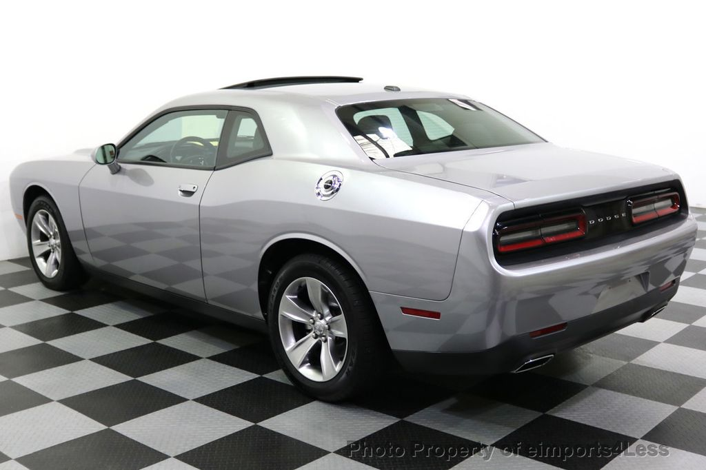 2015 Used Dodge Challenger Certified Challenger Sxt Sunroof At