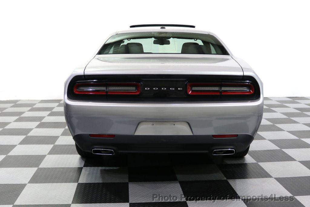 2015 Dodge Challenger CERTIFIED CHALLENGER SXT SUNROOF - 18006911 - 15