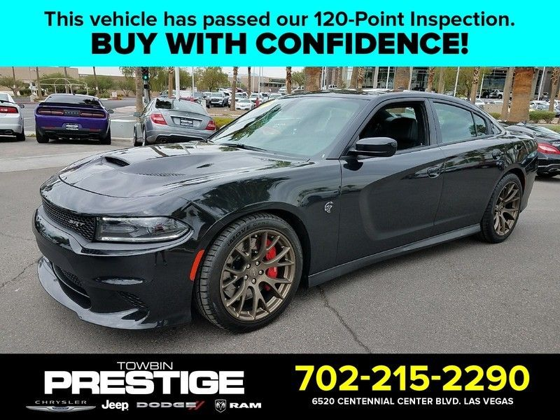 2015 Dodge Charger 4dr Sedan SRT Hellcat RWD - 16730576 - 0