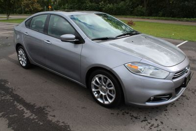 2015 Dodge Dart ONE OWNER LIMITED LEATHER MOONROOF NAVIGATION Sedan