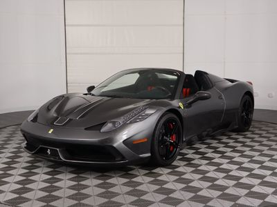 2015 Ferrari 458 Speciale Aperta  Convertible - Click to see full-size photo viewer