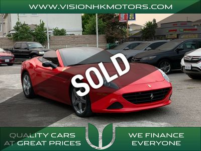Used Ferrari California Garden Grove Ca