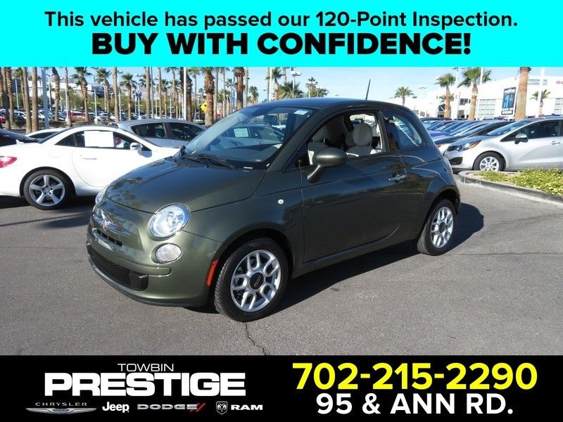 2015 FIAT 500 2dr Hatchback Pop - 17152754 - 0