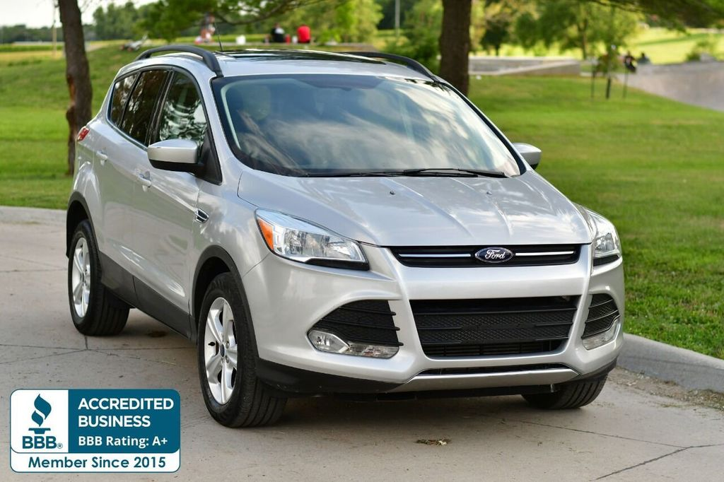 2015 Used Ford Escape 4wd 4dr Se At Unisell Auto Serving Omaha Ne Iid 20205706