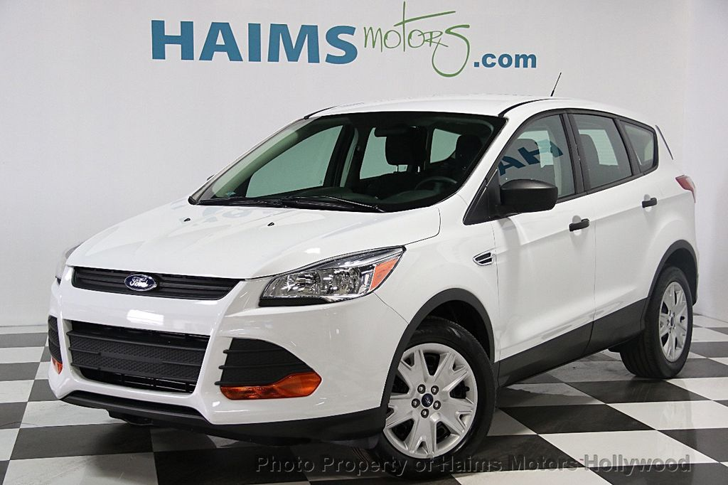 2015 used ford escape fwd 4dr s at haims motors serving fort lauderdale hollywood miami fl. Black Bedroom Furniture Sets. Home Design Ideas