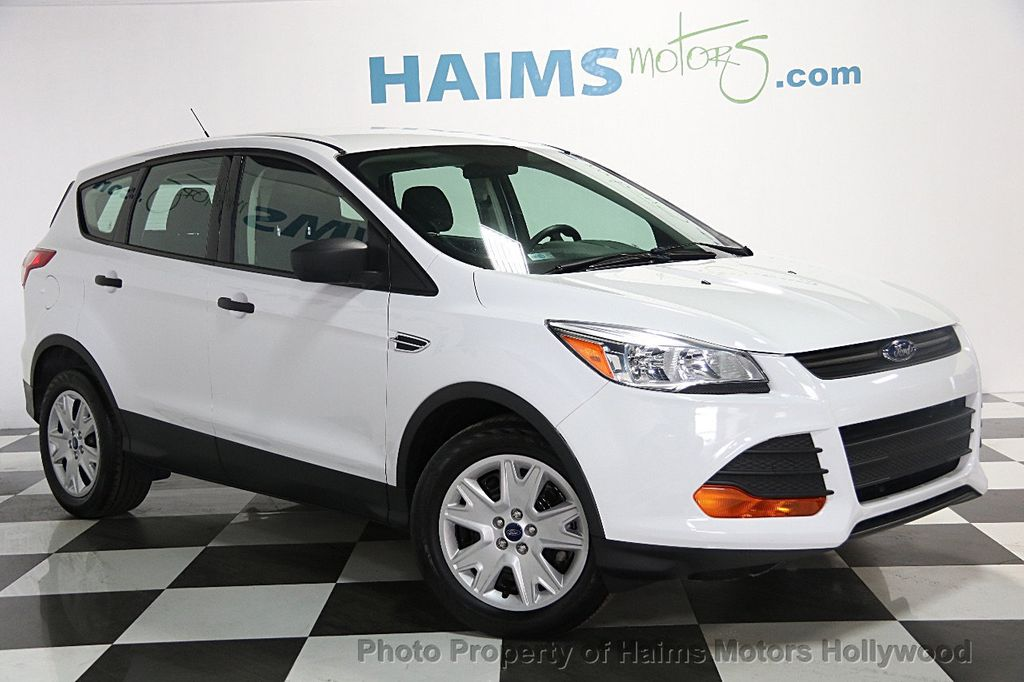 2015 Used Ford Escape Fwd 4dr S At Haims Motors Serving Fort Lauderdale Hollywood Miami Fl
