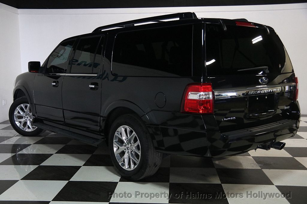 2015 used ford expedition el 2wd 4dr limited at haims motors serving fort lauderdale hollywood. Black Bedroom Furniture Sets. Home Design Ideas