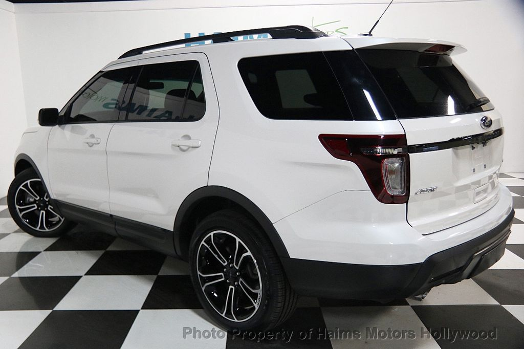 2015 used ford explorer 4wd 4dr sport at haims motors ft lauderdale serving lauderdale lakes fl. Black Bedroom Furniture Sets. Home Design Ideas