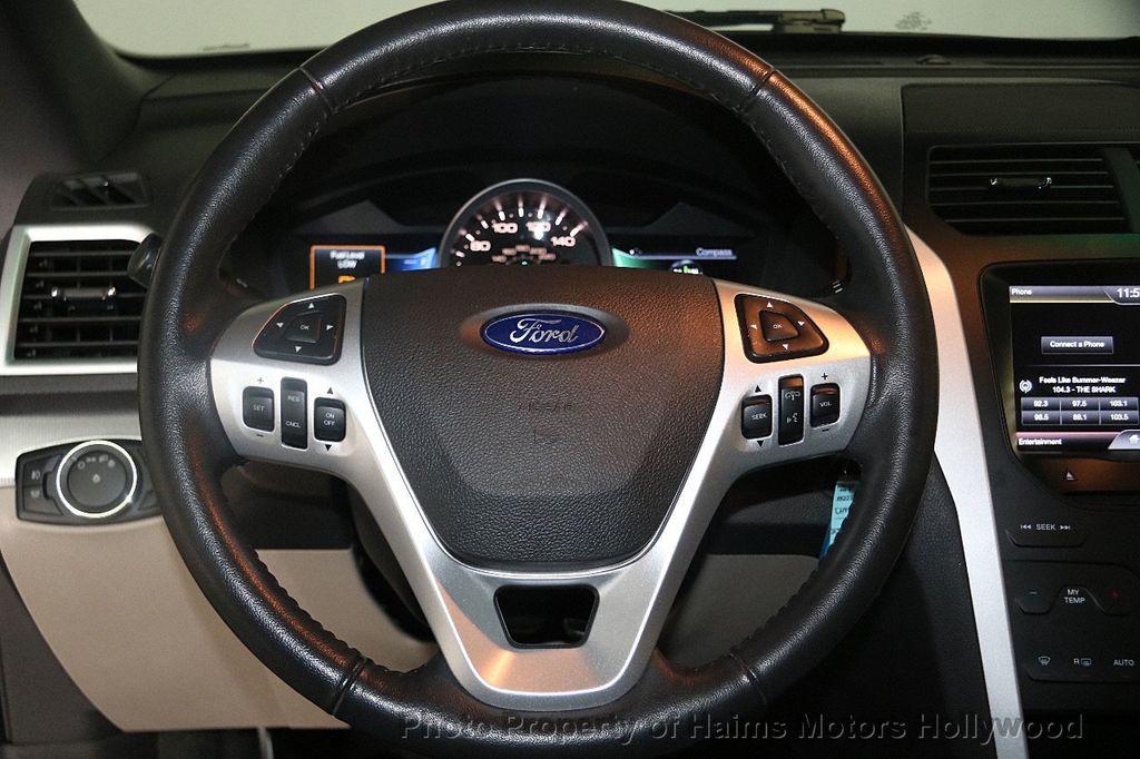 2015 Ford Explorer 4WD 4dr XLT - 17382062 - 27