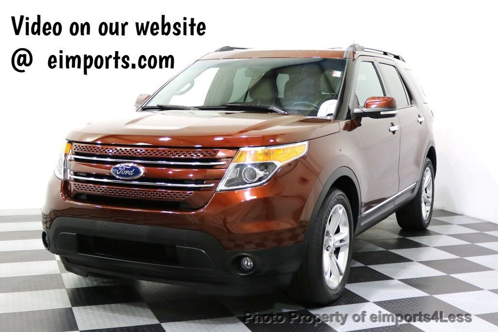 2015 Ford Explorer CERTIFIED EXPLORER 4WD LIMITED 7 PASSENGER PANO NAVI - 17784941 - 0