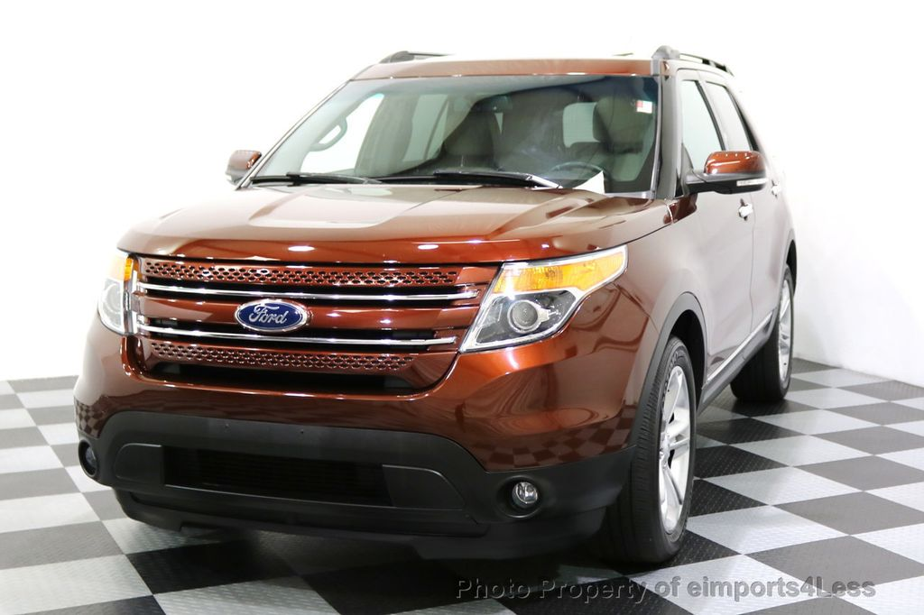2015 Ford Explorer CERTIFIED EXPLORER 4WD LIMITED 7 PASSENGER PANO NAVI - 17784941 - 14