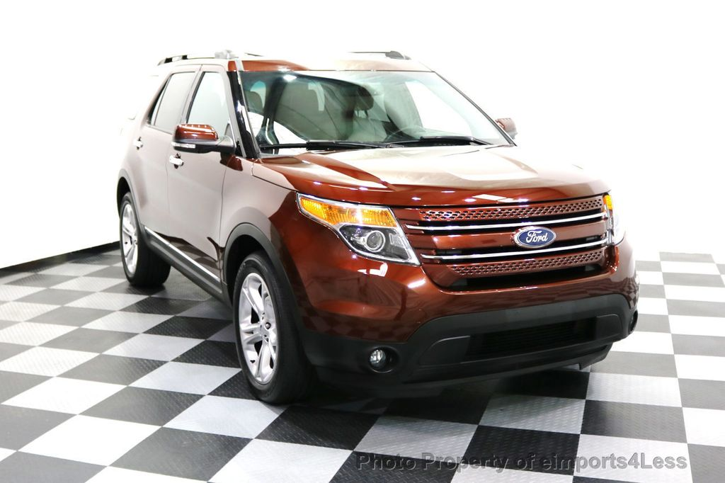 2015 Ford Explorer CERTIFIED EXPLORER 4WD LIMITED 7 PASSENGER PANO NAVI - 17784941 - 15