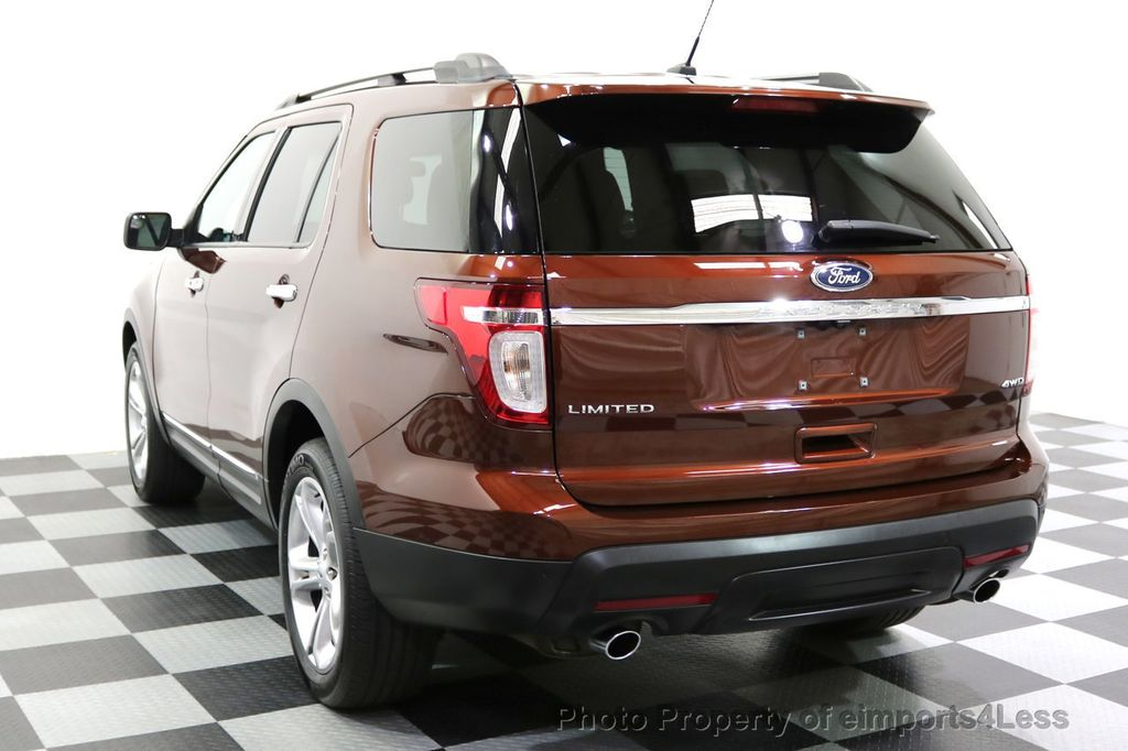 2015 Ford Explorer CERTIFIED EXPLORER 4WD LIMITED 7 PASSENGER PANO NAVI - 17784941 - 16