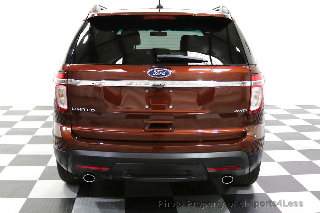2015 Ford Explorer CERTIFIED EXPLORER 4WD LIMITED 7 PASSENGER PANO NAVI - 17784941 - 17