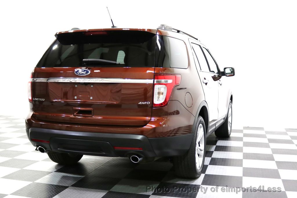 2015 Ford Explorer CERTIFIED EXPLORER 4WD LIMITED 7 PASSENGER PANO NAVI - 17784941 - 18