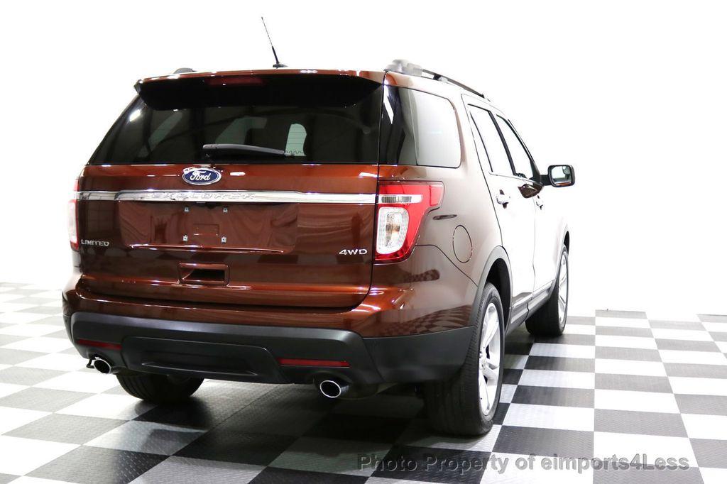 2015 Ford Explorer CERTIFIED EXPLORER 4WD LIMITED 7 PASSENGER PANO NAVI - 17784941 - 18