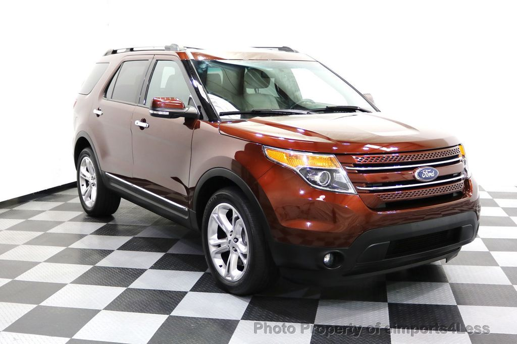 2015 Ford Explorer CERTIFIED EXPLORER 4WD LIMITED 7 PASSENGER PANO NAVI - 17784941 - 1