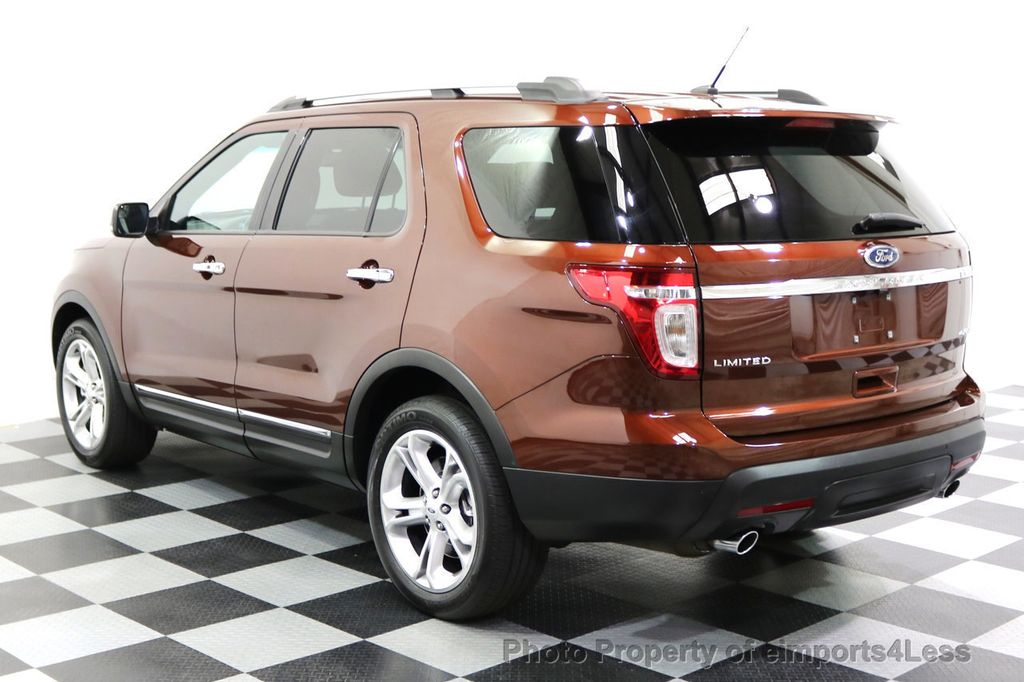 2015 Ford Explorer CERTIFIED EXPLORER 4WD LIMITED 7 PASSENGER PANO NAVI - 17784941 - 2