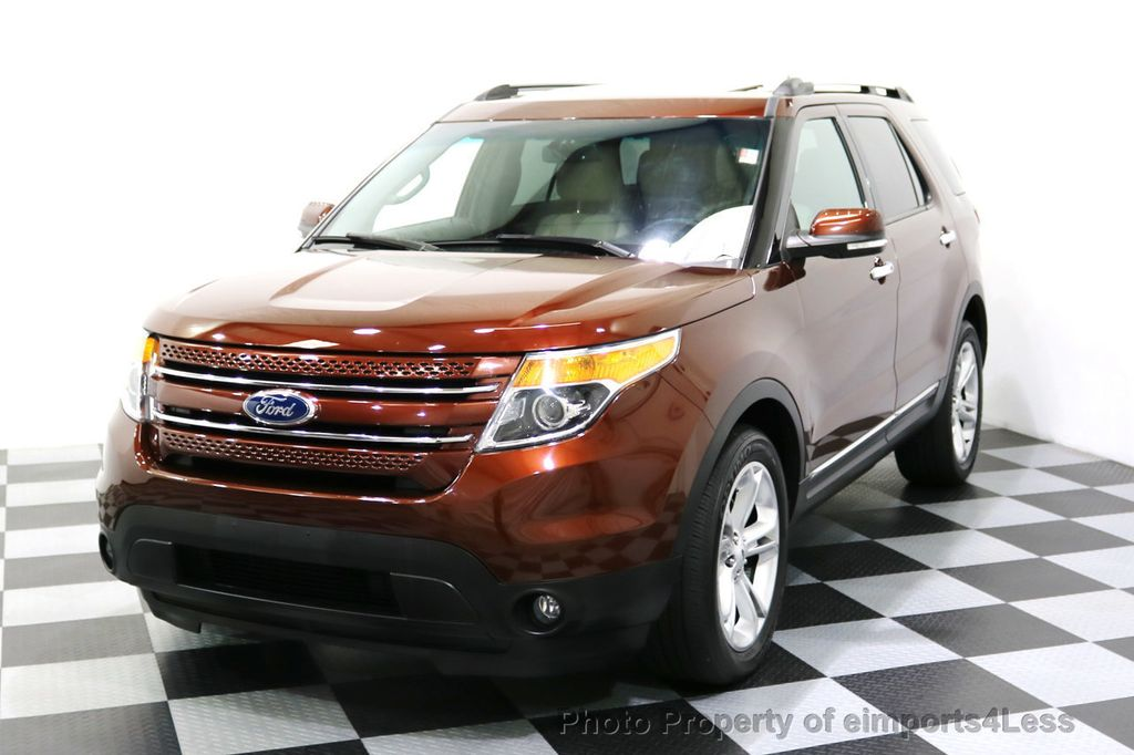 2015 Ford Explorer CERTIFIED EXPLORER 4WD LIMITED 7 PASSENGER PANO NAVI - 17784941 - 29