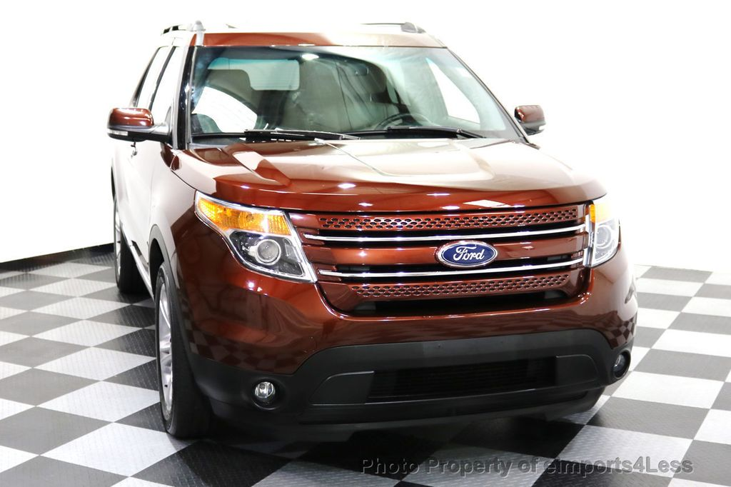 2015 Ford Explorer CERTIFIED EXPLORER 4WD LIMITED 7 PASSENGER PANO NAVI - 17784941 - 30