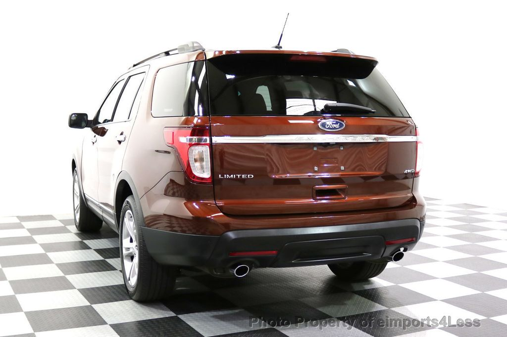 2015 Ford Explorer CERTIFIED EXPLORER 4WD LIMITED 7 PASSENGER PANO NAVI - 17784941 - 31