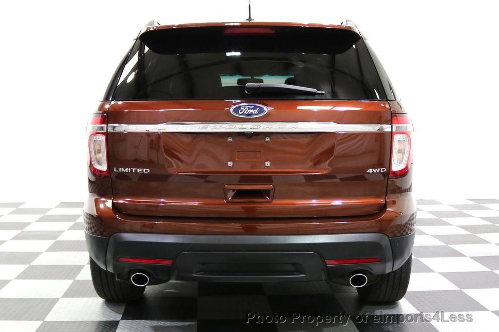 2015 Ford Explorer CERTIFIED EXPLORER 4WD LIMITED 7 PASSENGER PANO NAVI - 17784941 - 32