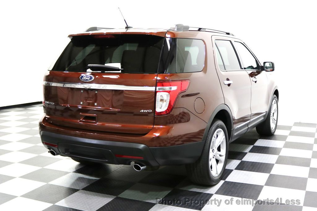 2015 Ford Explorer CERTIFIED EXPLORER 4WD LIMITED 7 PASSENGER PANO NAVI - 17784941 - 33