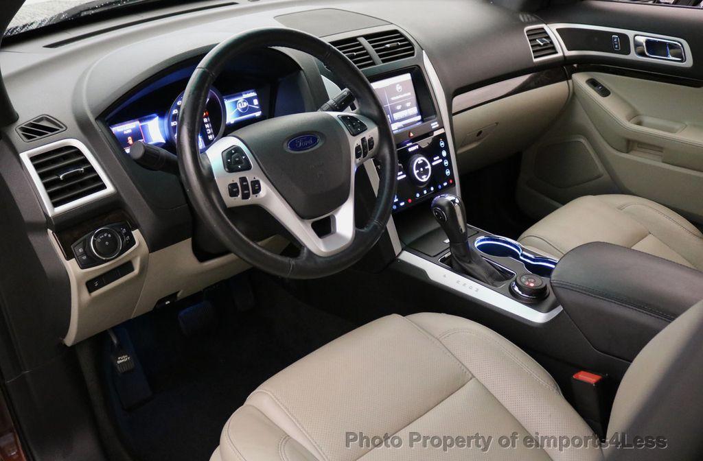 2015 Ford Explorer CERTIFIED EXPLORER 4WD LIMITED 7 PASSENGER PANO NAVI - 17784941 - 34