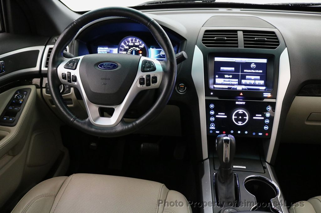 2015 Ford Explorer CERTIFIED EXPLORER 4WD LIMITED 7 PASSENGER PANO NAVI - 17784941 - 35