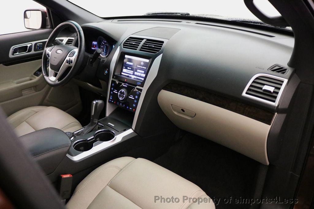 2015 Ford Explorer CERTIFIED EXPLORER 4WD LIMITED 7 PASSENGER PANO NAVI - 17784941 - 36