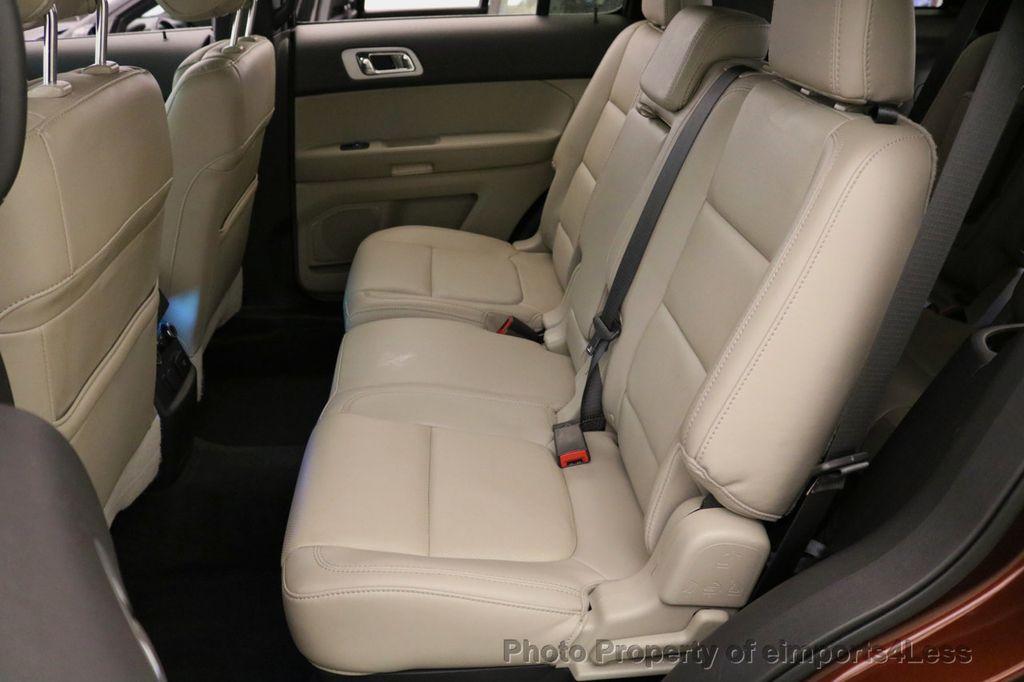 2015 Ford Explorer CERTIFIED EXPLORER 4WD LIMITED 7 PASSENGER PANO NAVI - 17784941 - 37