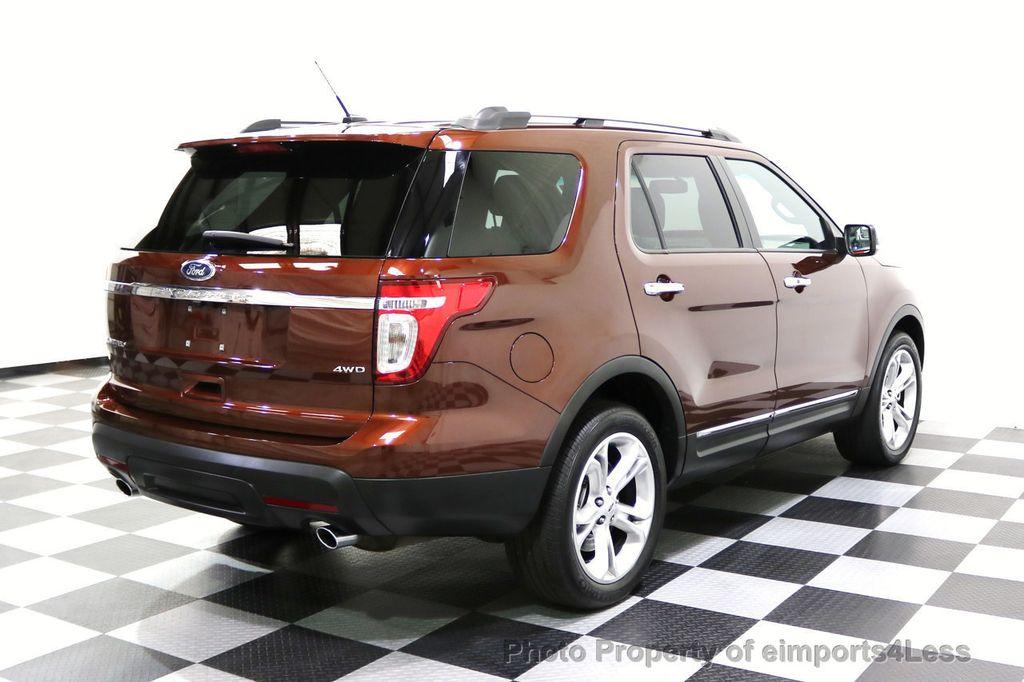 2015 Ford Explorer CERTIFIED EXPLORER 4WD LIMITED 7 PASSENGER PANO NAVI - 17784941 - 3