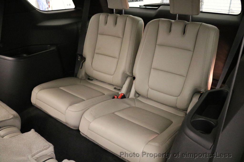 2015 Ford Explorer CERTIFIED EXPLORER 4WD LIMITED 7 PASSENGER PANO NAVI - 17784941 - 39
