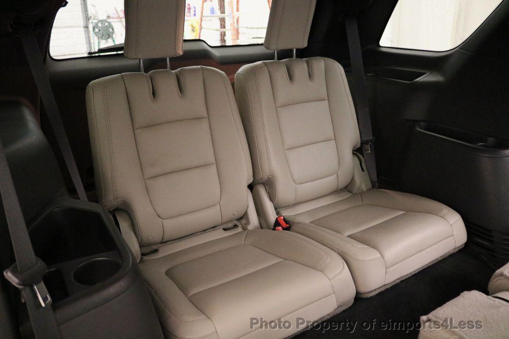 2015 Ford Explorer CERTIFIED EXPLORER 4WD LIMITED 7 PASSENGER PANO NAVI - 17784941 - 40