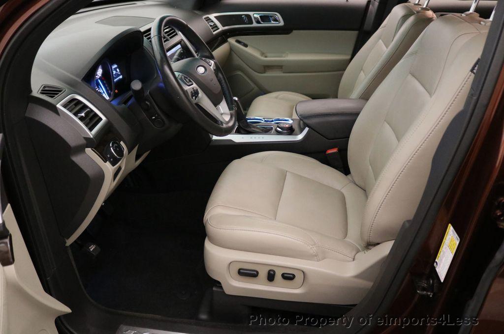 2015 Ford Explorer CERTIFIED EXPLORER 4WD LIMITED 7 PASSENGER PANO NAVI - 17784941 - 41