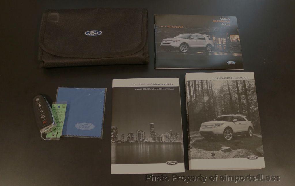 2015 Ford Explorer CERTIFIED EXPLORER 4WD LIMITED 7 PASSENGER PANO NAVI - 17784941 - 43