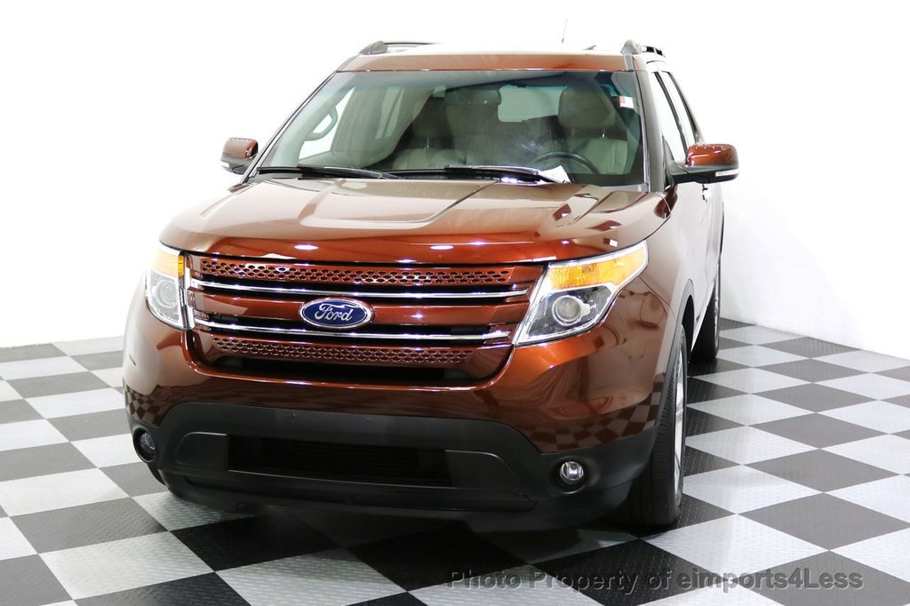 2015 Ford Explorer CERTIFIED EXPLORER 4WD LIMITED 7 PASSENGER PANO NAVI - 17784941 - 47
