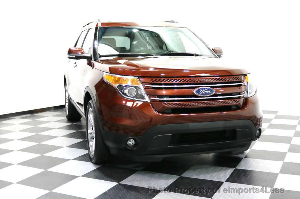 2015 Ford Explorer CERTIFIED EXPLORER 4WD LIMITED 7 PASSENGER PANO NAVI - 17784941 - 48