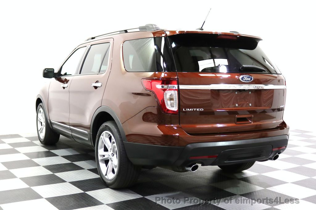 2015 Ford Explorer CERTIFIED EXPLORER 4WD LIMITED 7 PASSENGER PANO NAVI - 17784941 - 49