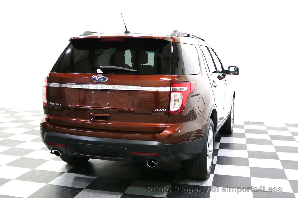 2015 Ford Explorer CERTIFIED EXPLORER 4WD LIMITED 7 PASSENGER PANO NAVI - 17784941 - 50