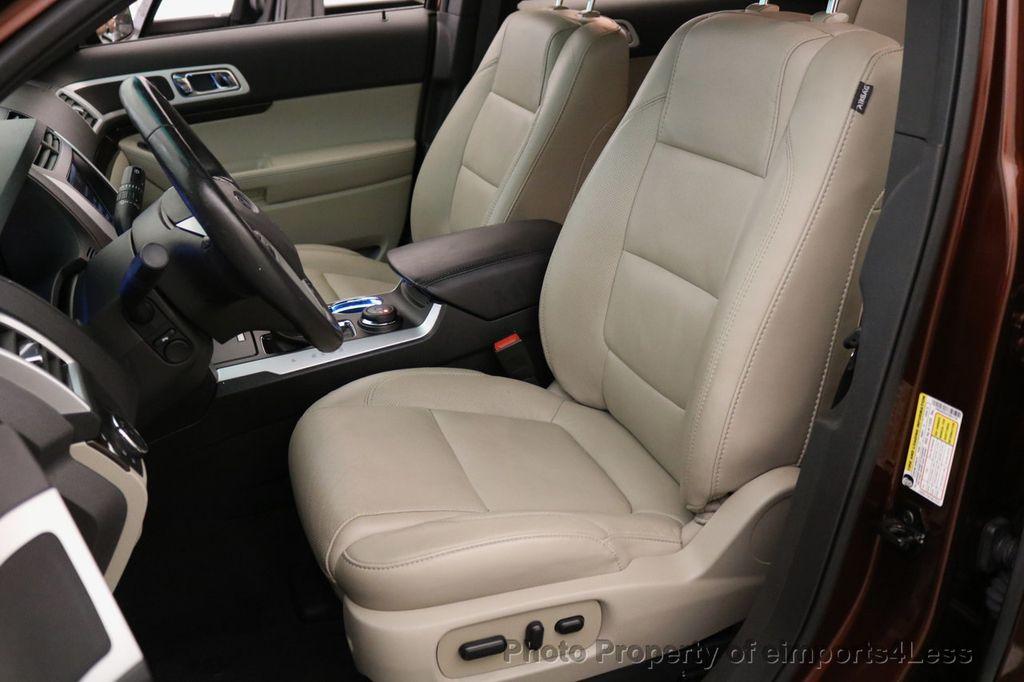 2015 Ford Explorer CERTIFIED EXPLORER 4WD LIMITED 7 PASSENGER PANO NAVI - 17784941 - 51